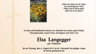 Langegger Elsa 2019