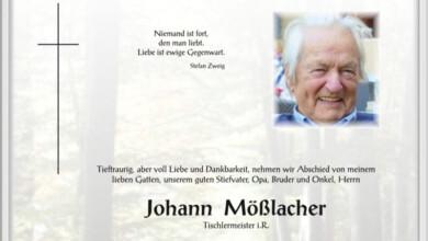 Johann Mösslacher vulgo Messner