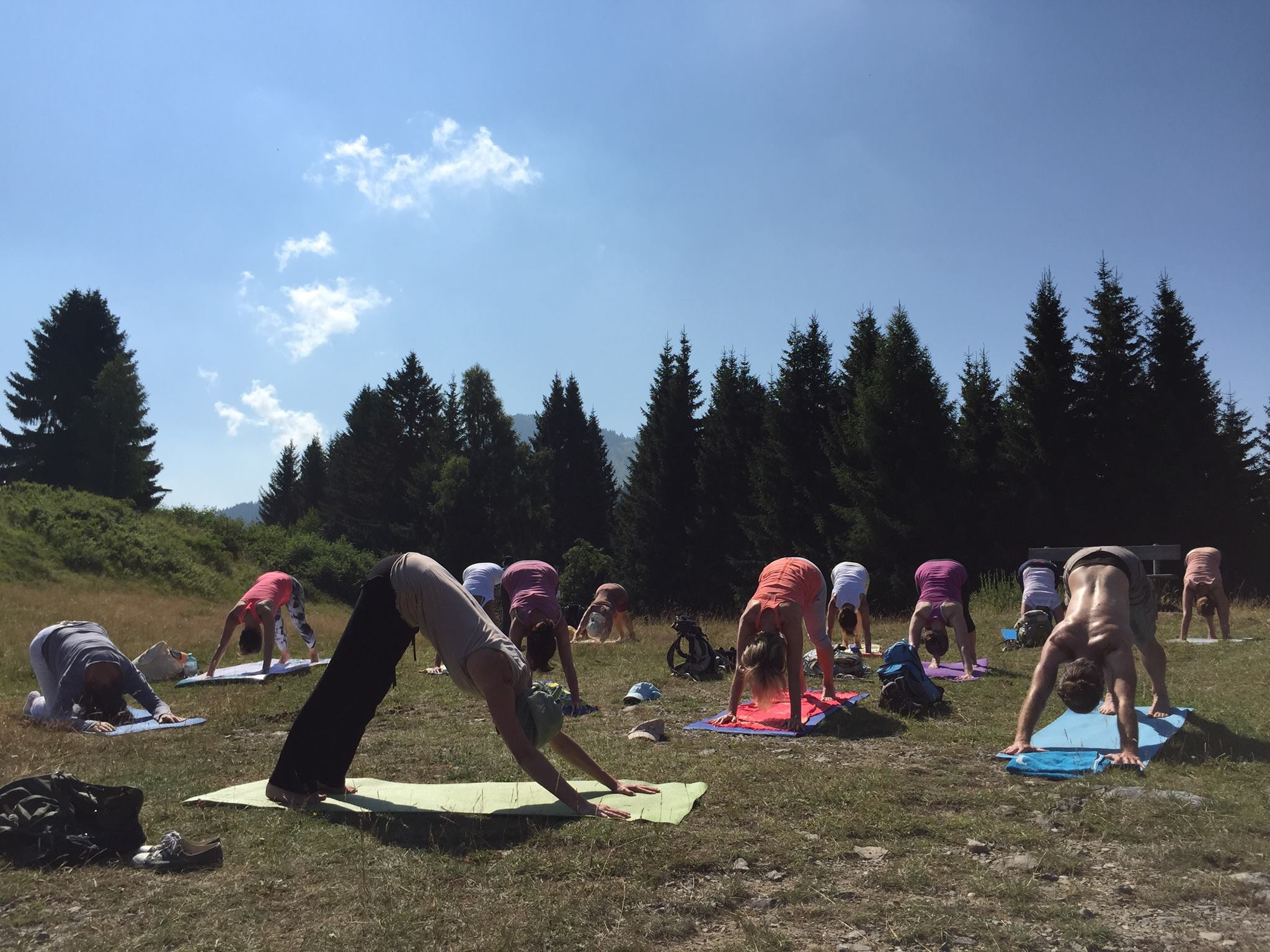 © Yoga am Berg